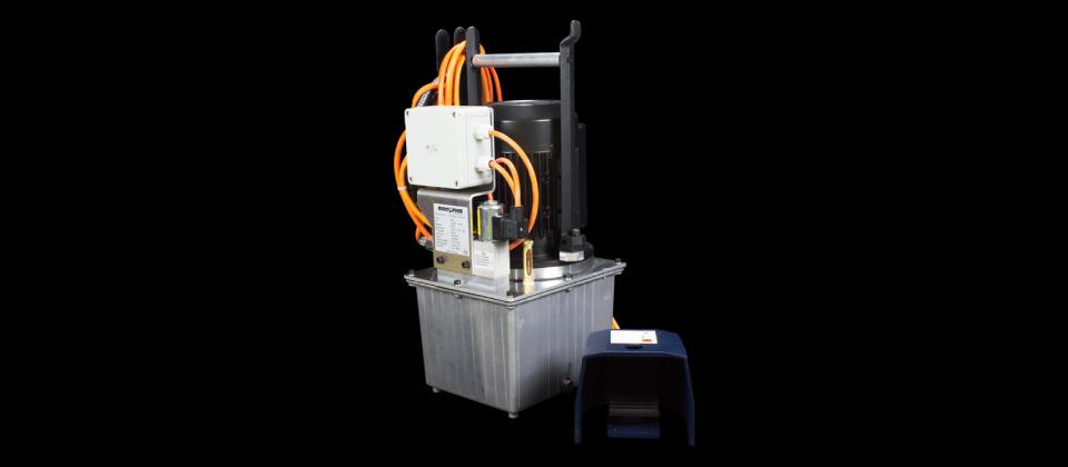 Hydraulische Antriebsaggregate / Hydraulic Power Packs